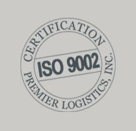 ISO 9002 Certfication | Premier Logistics, Inc.
